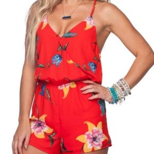 Buddy Love Floral Romper